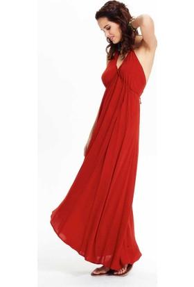 Clandestino Sırt Dekolteli Elbise