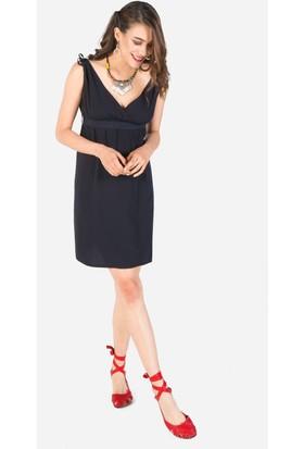 Clandestino V Yakalı Elbise