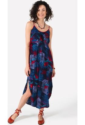 Clandestino Uzun Elbise