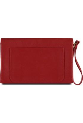 Marjin Liyez Postacı Çanta Kırmızı