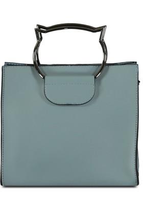 Marjin Zatin Günlük Çanta Mavi
