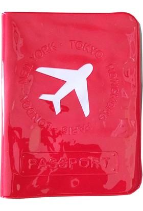 Solaress M-Square Pvc Deri Pasaport Kılıfı Seyahat Cüzdanı