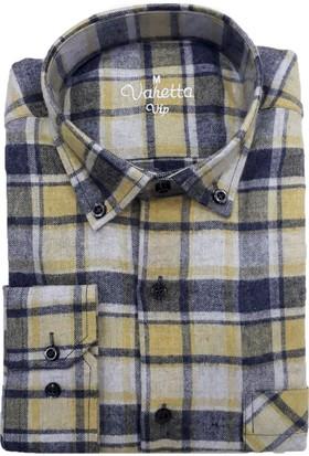 Varetta Klasik Kesim Kışlık Yün Gömlek