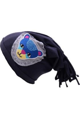 Babygiz Aslan Aplikeli Şapka Ns0116