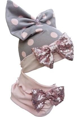 Babygiz Şapka Boyunluk Takım Nsb053
