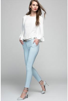 Womenice Bilekte Klasik Pantolon