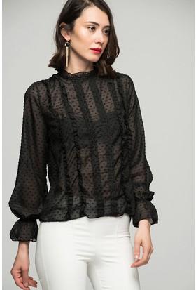 Womenice Nervürlü Gömlek