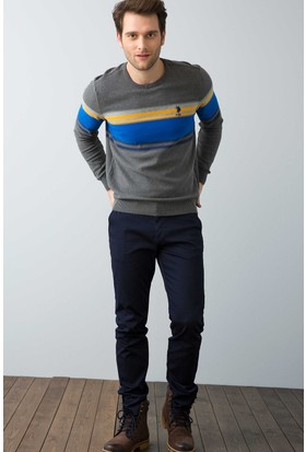 U.S. Polo Assn. Erkek Kenn7Y-Ing Pantolon Lacivert