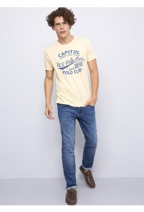 U.S. Polo Assn. Erkek Larkin T-Shirt Sarı