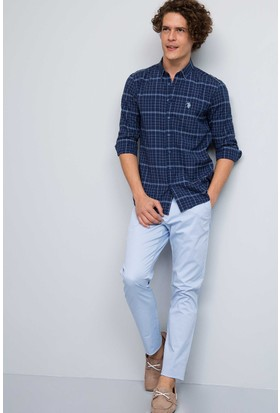 U.S. Polo Assn. Erkek Gn087Y-Ing Pantolon Açık Mavi