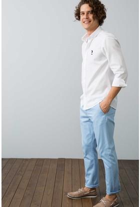 U.S. Polo Assn. Erkek Kenn7Y-Ing Pantolon Mavi