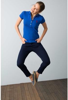 U.S. Polo Assn. Kadın Tp01İy08-011 T-Shirt Saks