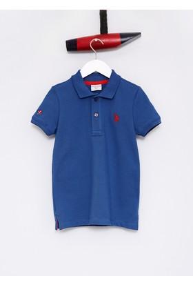 U.S. Polo Assn. Erkek Çocuk Tp01İy7 T-Shirt Lacivert