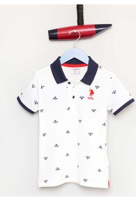 U.S. Polo Assn. Erkek Çocuk T-Shirt Beyaz
