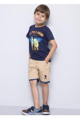 U.S. Polo Assn. Erkek Çocuk Dantekids7Y-Ing Şort Beyaz