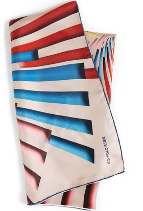 U.S. Polo Assn. Kadın Y7Uspa2066 Eşarp Mavi