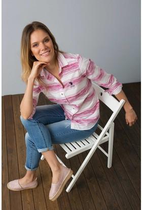U.S. Polo Assn. Kadın Alarcon Gömlek Pembe