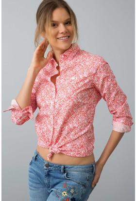 U.S. Polo Assn. Kadın Ramiro Gömlek Kırmızı
