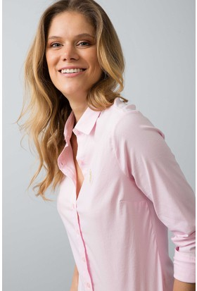 U.S. Polo Assn. Kadın Saly18Y Gömlek Pembe