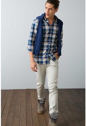 U.S. Polo Assn. Erkek Carlos7Y-Ing Pantolon Gri