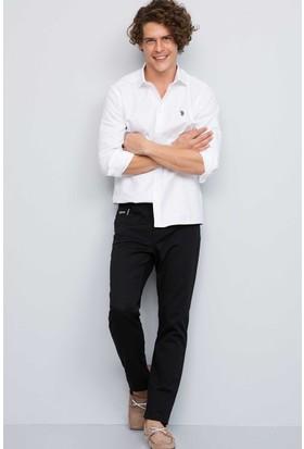 U.S. Polo Assn. Erkek Carlos7Y-Ing Pantolon Siyah