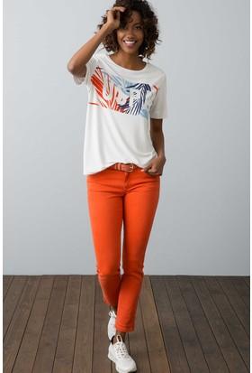 U.S. Polo Assn. Kadın Liz8Y Pantolon Kırmızı