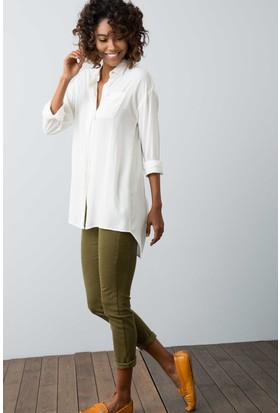 U.S. Polo Assn. Kadın Liz8Y Pantolon Yeşil