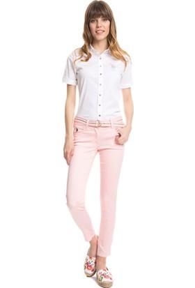 U.S. Polo Assn. Kadın Prettx5Y Pantolon Pembe