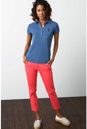 U.S. Polo Assn. Kadın Wilma7Y-Ing Pantolon Pembe