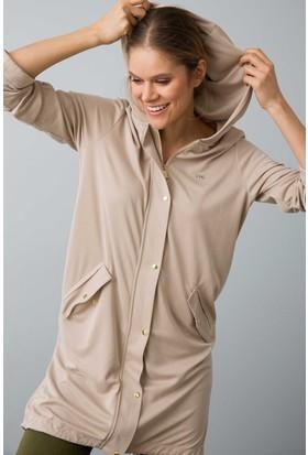 U.S. Polo Assn. Kadın Nerman Sweatshirt Gri