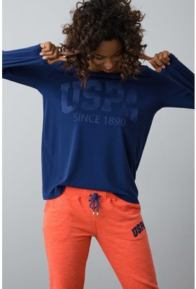 U.S. Polo Assn. Kadın Sweat Shirt Lacivert