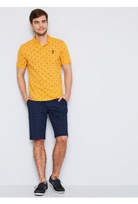 U.S. Polo Assn. Erkek Marco T-Shirt Sarı