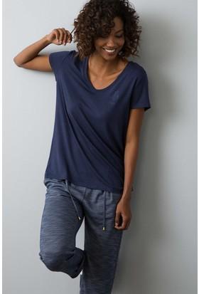 U.S. Polo Assn. Kadın Ciyosel-Iy08 T-Shirt Lacivert