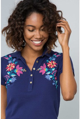 U.S. Polo Assn. Kadın Nicek T-Shirt Lacivert