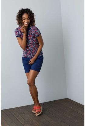 U.S. Polo Assn. Kadın Norm T-Shirt Lacivert
