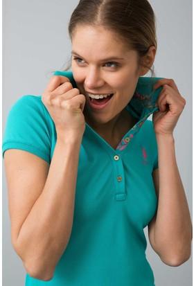 U.S. Polo Assn. Kadın Tp01İy08-011 T-Shirt Mint