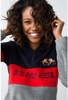 U.S. Polo Assn. Kadın 15915 Pijama Kırmızı
