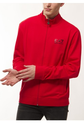 Emporio Armani Erkek Kırmızı Sweatshirt