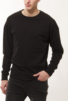 Trussardi Erkek Siyah Sweatshirt