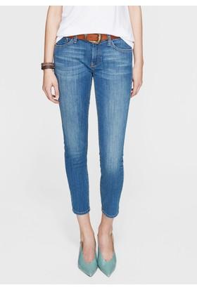 Mavi Kadın Adriana Ankle Vintage İndigo Jean Pantolon