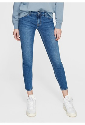 Mavi Kadın Adriana Ankle Mavi Jean Pantolon