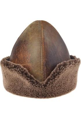 Pegia Vintage Kürklü Diriliş Şapka 18AS09 Kahve