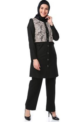 Ahsen Bayan Uzun Ceket
