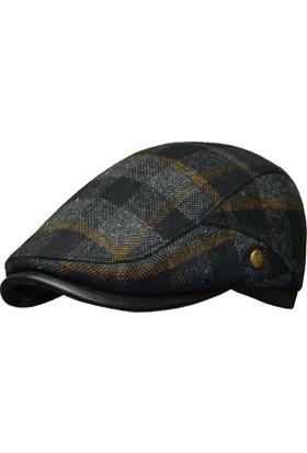Pozze İtaly Modeli Kışlık Erkek Kasket Şapka