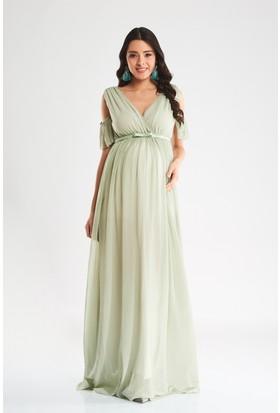 Lyn Devon Starlight Pileli Elbise