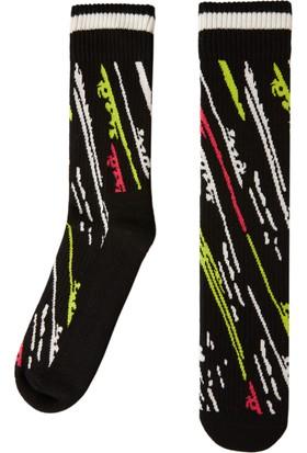 Socks ++ Falling Kadın Performans Tasarım Desenli Soket Çorap