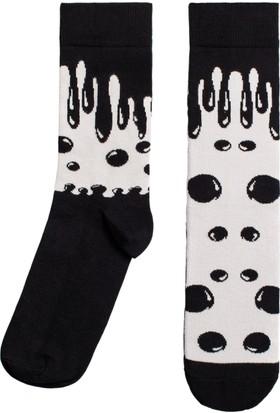 Socks ++ Fluid Kadın Tasarım Desenli Soket Çorap