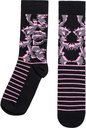 Socks ++ Misty Kadın Tasarım Desenli Soket Çorap