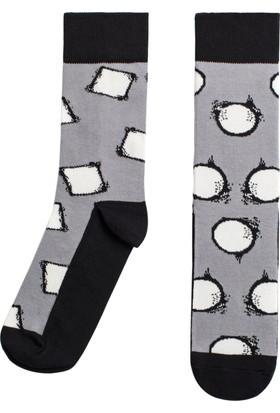 Socks ++ Variation Kadın Tasarım Desenli Soket Çorap