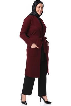 Lalısta Bayan Uzun Ceket